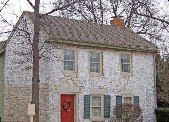 gebrauchtes Haus mit Bruchsteinwand